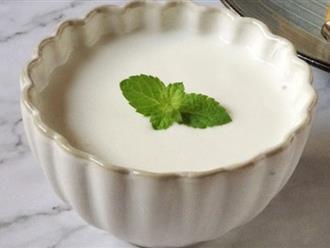 Các mẹ đã biết chưa - dùng dụng cụ này để làm sữa chua nhàn cực kỳ luôn!