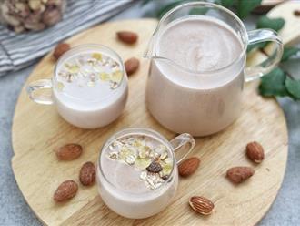 Nghỉ lễ rảnh rỗi, sáng nào tôi cũng làm sữa hạt cho cả nhà thưởng thức