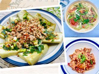Mâm cơm 3 món nấu đã nhanh lại còn dễ, vụng mấy cũng có thể nấu ngon!