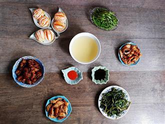 Mâm cơm 5 món nấu nhanh cho bữa tối ngày mát trời thêm ngon miệng