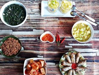 Tìm lại hương vị mâm cơm của bà, của mẹ khi xưa với những món ăn giản dị thân thương