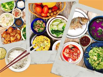 Khỏi lo thiếu ý tưởng đi chợ với 6 mâm cơm ngon đẹp 10 phân vẹn 10 của mẹ đảm Nha Trang chia sẻ