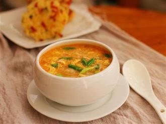 Mẹ có con đang ăn dặm không thể bỏ qua món súp làm nhanh ăn ngon lại bổ dưỡng này