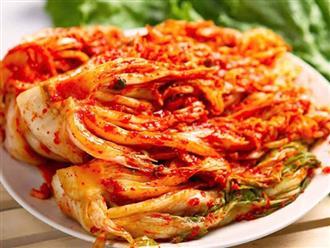 Mẹo làm kim chi cải thảo chua ngọt chuẩn vị Hàn Quốc đơn giản tại nhà