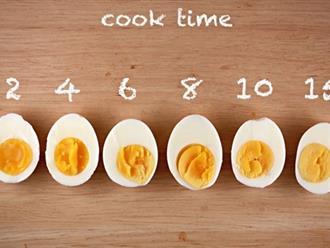 Mẹo luộc trứng đạt độ chín chuẩn như siêu đầu bếp