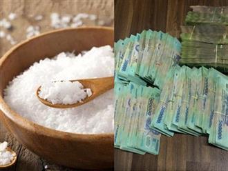 Đặt lọ muối vào vị trí này đảm bảo tiền ập xuống đầu, gia chủ giàu nhanh như trúng số độc đắc