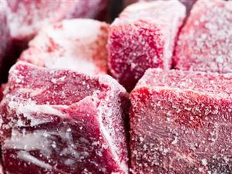 Mẹo rã đông thịt nhanh chóng mà vẫn giữ nguyên dinh dưỡng