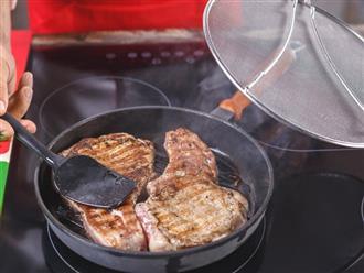 Mẹo rán các món chiên không bị dầu ăn bắn ra ngoài