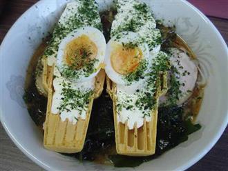 Lạ đời món mì ramen kem tươi, khó ăn mà người Nhật vẫn chen nhau mua