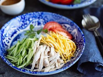 Miến gà trộn kiểu Nhật cho bữa trưa thanh mát