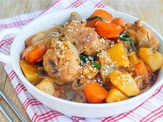 Chỉ duy nhất 1 món miến thịt gà thôi là cả gia đình tôi thỏa mãn với bữa ăn cuối tuần rồi!