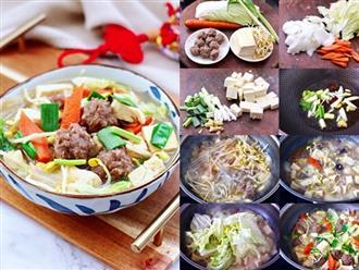 Làm miến thịt rau củ nhanh gọn bổ sung vitamin, cân bằng dinh dưỡng