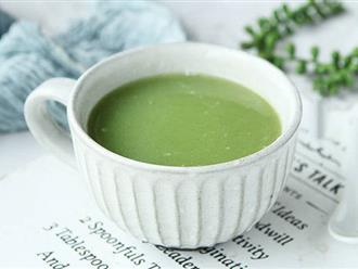 Mỗi tuần hãy giúp cơ thể bạn thải độc ít nhất 1 lần bằng cách uống món sinh tố này nhé!