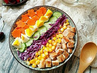 Món salad đẹp như mơ - chất lượng như nhà hàng, chuẩn Eat Clean ai thử cũng thích