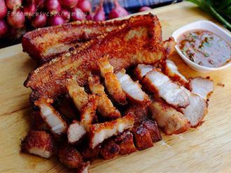 Tôi học người Thái làm món thịt chiên giòn rụm vàng ươm dễ ợt, cả nhà ăn một lần mà nhớ mãi không quên