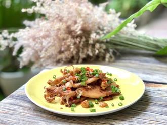 Mực khô đâu chỉ nướng, làm thế này ăn cơm cũng ngon mà nhâm nhi ăn vặt cũng tuyệt!