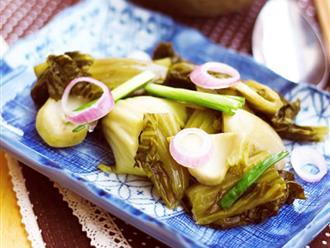 Mẹo hay để muối dưa cải luôn vàng giòn, không màng, không khú ai ăn cũng thích hơn cả ngoài hàng