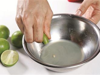 Khi nấu ăn bị mặn món nào cũng thế chỉ cần lấy quả chanh làm điều này vừa ăn ngay tức khắc