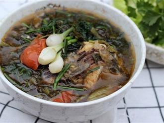Vào bếp nấu canh cá dưa chua cho bữa cơm sau Tết ngon đậm đà