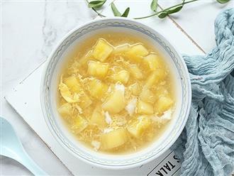 Khi nấu chè sắn, mẹ mình thường thêm 1 nguyên liệu này, cả nhà ai ăn cũng khen và mùa đông nào cũng háo hức mong chờ