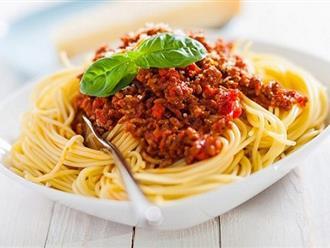 Nấu mì pasta không ngon là vì bạn chưa biết công thức này