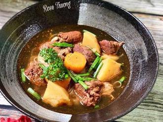 Người Nha Trang có cách nấu phở bò lạ và rất ngon, thử một lần bạn sẽ thích ngay!