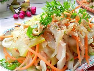 Nộm sứa tai heo giòn sần sật, ai ăn cũng phải gật đầu khen ngon