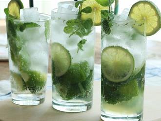 Trời nóng mà có nước chanh pha theo kiểu này thì uống một ngụm là như thấy thiên đường!