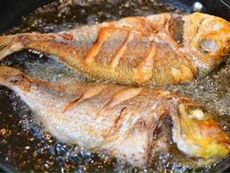 Rán cá suốt ngày bị nát, học ngay 5 mẹo này để cá luôn vàng giòn không sát chảo
