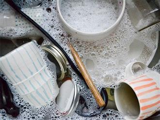 5 sai lầm độc hại khi rửa bát ngày Tết nhà nào cũng mắc phải