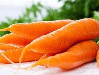 Cà rốt vô cùng tốt nhưng bạn phải biết chắc điều này trước khi ăn