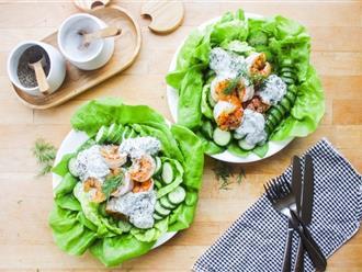 Nếu đang muốn giảm cân thì món salad này cực kỳ hiệu quả lại còn làm đẹp da