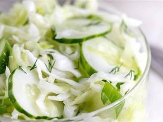 Ăn món salad này mỗi trưa, đảm bảo từ giờ đến Tết bạn có eo thon mặc áo dài siêu đẹp