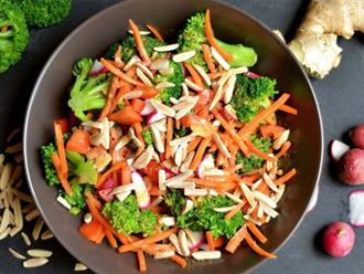 Ai cũng sẽ thích ăn salad nếu được thử món salad ngon vi diệu này