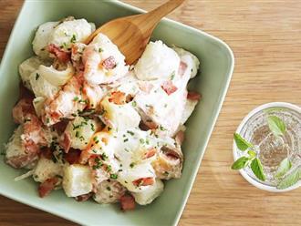 Muốn giảm cân tốt, bữa sáng hãy ăn món salad đầy dinh dưỡng này để cả ngày không bị thèm ăn!