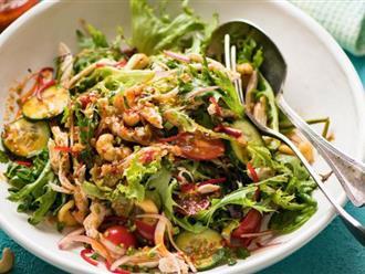 Salad gà làm kiểu này ai ăn cũng phải khen nức nở