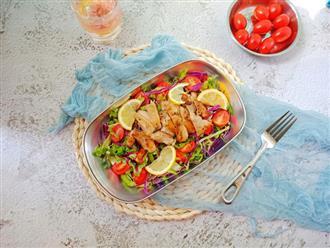 Bữa trưa tôi chỉ cần món salad này là đủ no đến chiều mà lại cực ngon