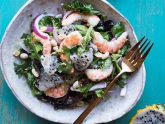 Ai cũng ngỡ ngàng khi tôi cho nguyên liệu này vào món salad nhưng ăn rồi thì thi nhau hỏi công thức!