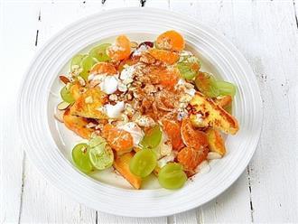 Buổi sáng có món salad trái cây này thì vừa nhẹ bụng, đủ chất lại còn ngon hết cỡ!