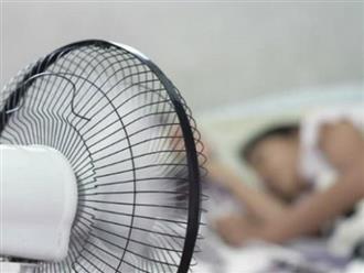 Sử dụng quạt hơi nước, quạt phun sương làm mát khiến trẻ ho, sốt, ốm dặt dẹo, vì sao?