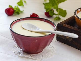 Trời chuyển mùa làm ngay sữa gừng giúp cơ thể phòng chống cảm cúm