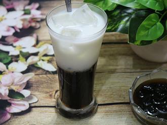 Bắt kịp trào lưu sữa tươi trân châu đường đen với cách làm không thể dễ hơn này