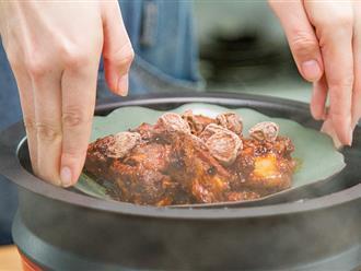 Tết thêm hương vị với sườn hấp cay