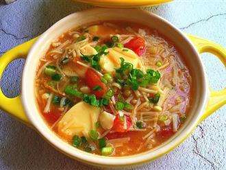 Muốn có eo thon đón Tết, bữa tối các mẹ chỉ nên ăn 1 tô súp này thôi!