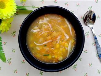 Bữa sáng muốn nhẹ bụng, hãy nấu ngay món súp gà ngon lành mà đủ chất này bạn nhé!