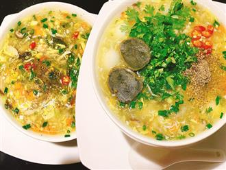 Thời tiết ẩm ương, bữa tối chỉ cần tô súp gà nóng hổi dinh dưỡng là tuyệt vời!