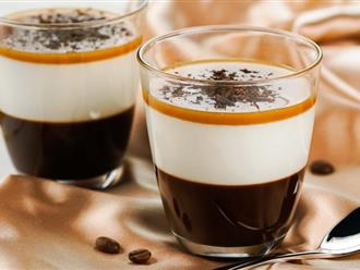 Làm ngay món thạch mang vị béo ngậy của kem sữa, thơm lừng của cà phê