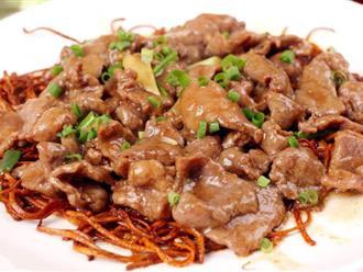 Thì ra đây là bí quyết để món thịt bò xào vừa thơm ngọt vừa mềm tan như nhà hàng, đa số mọi người đều bỏ qua bước đầu tiên