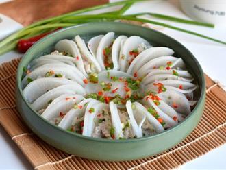 Cơm chiều ăn ngon mà không ngán với món thịt hấp đẹp mê tơi