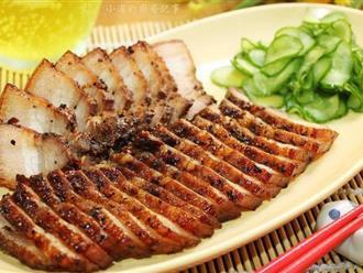 Món thịt heo chiên thơm lừng vàng ươm dễ ợt này tôi học được của người Tàu, cả nhà ai ăn cũng khen nức nở